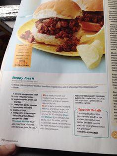 Sloppy Joes II - allrecipes magazine