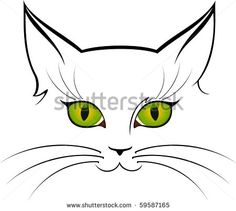 sexy cat outlines - Google Search