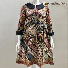 Kulot Batik, Mode Batik, Batik Kebaya, Batik Solo, Pakistani Fashion Casual, Hijab Fashion, Fashion Dresses, Model Dress Batik, Batik Dress
