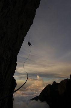 lostinthewhiteroom:  Borneo Big Wall by Goat_VSH on Flickr.