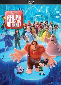 33c4c3f03c68 DVD   Blu-ray  RALPH BREAKS THE INTERNET (2018)