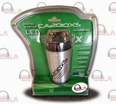Sourcing-LA: 4 FARAD GREY CAR CAP LED DIGITAL DISPLAY AMP SUB S...