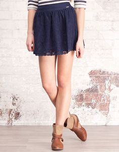 A line lace skirt. i have this, i have this
