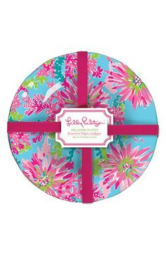 !! Lilly+Pulitzer®+Plates+(Set+of+4)+available+at+#Nordstrom