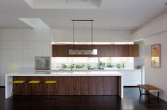 2 tone cabinetry