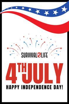 Happy 4th of July! :) Survival Blog, Urban Survival, Survival Life, Wilderness Survival, Survival Prepping, Emergency Preparedness, Survival Gear, Survival Skills, Easy Campfire Meals