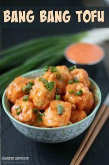 Copycat Bang Bang Tofu - This is a vegetarian take on the popular Bang Bang Shrimp from Bonefish Girl!! SO YUM!