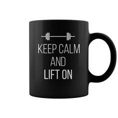 Keep calm  keep calm and lift on