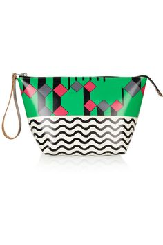 Super-cool. (Marni Printed PVC pouch on The Outnet)