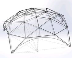Various sizes and geometries: Icosahedron, octahedron or hexagonal domes, zomes. Choose Your dome design! Geodesic Sphere, Geodesic Dome Homes, Round House Plans, Small Floor Plans, Shed Design, Building Design, Indoor Zen Garden, Garden Art, Garden Ideas