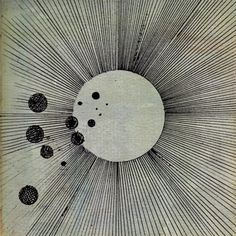 Flying Lotus' album cover for Cosmogramma.
