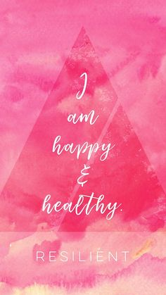 I am happy and healthy. flow universe law of attraction loa divine quote positivity motivational graphic inspirational mindset think good things empowerment strength inner love self confidence growth mantra goddess affirmation Positive Affirmations Quotes, Affirmations For Women, Affirmation Quotes, Positive Quotes, Healing Affirmations, Wealth Affirmations, Best Inspirational Quotes, Inspiring Quotes About Life, Inspiring Message