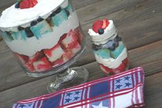 Jello Cheesecake Trifle - Shugary Sweets