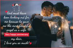 101 Heartwarming Wedding Anniversary Wishes For Wife Wedding Anniversary quotes for Her From the Heart<br> Wedding anniversaries are beautiful reminders of this wonderful journey. Here is a list of anniversary wishes for wife to express your feelings. Anniversary Quotes For Girlfriend, Happy Wedding Anniversary Quotes, Happy Wedding Anniversary Wishes, Anniversary Msg For Husband, Anniversary Gifts, Girlfriend Quotes, Husband Quotes, Martha Stewart, Beautiful