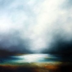 Paul Bennett - Seascape, Landscape, Abstract and Portrait Artist Landscape Artwork, Abstract Landscape, Abstract Art, Seascape Paintings, Painting Canvas, Watercolour Paintings, Print Artist, Painting Inspiration, Art Pictures