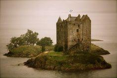 Castle Stalker, Appin, Argyll, Scotland photographed by Gigi Corgo