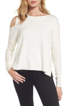 BAILEY44 WOMEN'S BAILEY 44 MAGIC LAMP COLD SHOULDER TOP. #bailey44 #cloth #