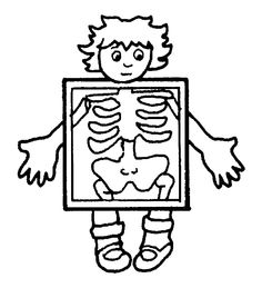 Trendy Human Body Art For Kids Crafts Coloring Pages Fish Coloring Page, Preschool Coloring Pages, Alphabet Coloring Pages, Free Printable Coloring Pages, Coloring Book Pages, Coloring Pages For Kids, Drawing For Kids, Art For Kids, Clip Art Library