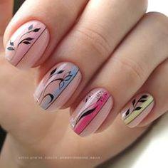 Subtle Nail Art, Elegant Nail Art, Elegant Nail Designs, New Nail Art Design, Nail Art Designs, Karma Nails, Christmas Present Nails, Pink Gel Nails, Sassy Nails