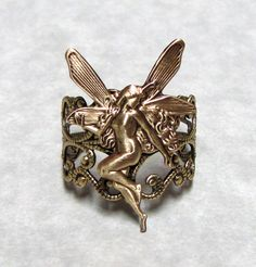 Fairy Nymph Ring Band