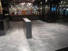 Concrete Floors with metallic coating Concrete Inspirations Calgary, AB