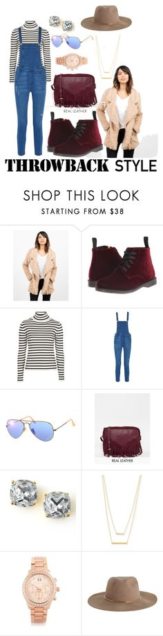 """""""what's up doc?"""" by jazzley-24 ❤ liked on Polyvore featuring мода, Dr. Martens, Topshop, Rebecca Minkoff, Ray-Ban, ASOS, Kate Spade, Jennifer Zeuner, Michael Kors и Zimmermann"""
