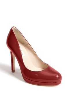 L.K. Bennett 'Sledge' Pump, Red