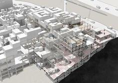 Module Architecture, Architecture Life, Architecture Visualization, Architecture Portfolio, Concept Architecture, Interior Architecture, Co Housing, Social Housing, Aa School