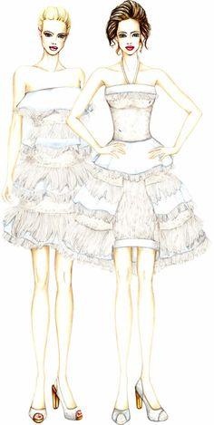Fashion illustrations my style on pinterest fashion for Burgo istituto