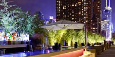"""Yotel  New York  - Saturdays are party central at Yotel; start with the """"Bottomless Brunch"""" and stay for the DJ.   #JetsetterCurator"""