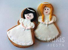 galletas pintadas de comunion, recordatorio comunion, detalles de comunion
