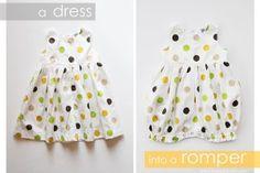 Un ensemble top / bloomer pour bébé | tutoriels de couture | Blog de Petit Citron