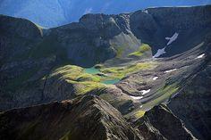 Aerial photo of Pocket of Heaven, Ouray County, Colorado, CO ...by john wark