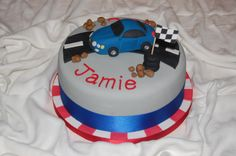 #cake #birthday #party #Cars