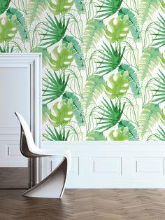 Brighten up your wall met Graham & Brown Jungle Fever behang.