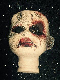 Dolly Dearest 3D Doll Head Bath bomb by SudsySirens on Etsy https://www.etsy.com/listing/476617976/dolly-dearest-3d-doll-head-bath-bomb