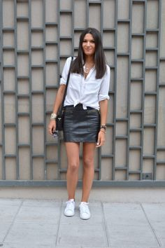 blog mode tendance 2015 jupe en cuir