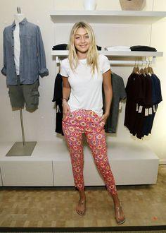 Gigi Hadid stil trend mote inspirasjon modell runway vogue