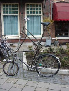 futuristic bicycle