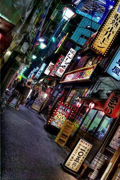 Back alley of Shinjuku #tokyo #japan