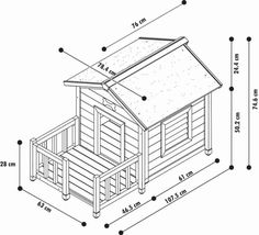 DIY ideas from old pallets or how can you build a dog house? - Cats and Dogs House Pallet Dog House, Pallet Dog Beds, Build A Dog House, Dog House Plans, Dog Houses, Play Houses, Grande Niche, Backyard Hammock, Dog Yard