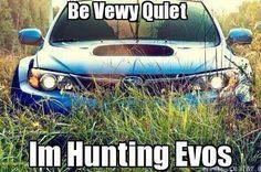 Subaru Evo Hunting