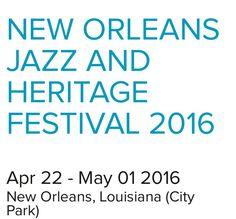 jazzfest 2016