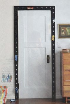 Racecar Door Trim - What a great decor idea for the racing theme classroom! {broken link, but this is GREAT!!!}