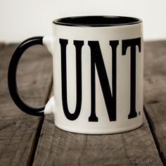 UNT Mug - I c what you did there | Firebox £9.99