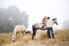 Dreamy California ranch engagement shoot by Yuliya M. Photography - http://su.pr/1wdasH