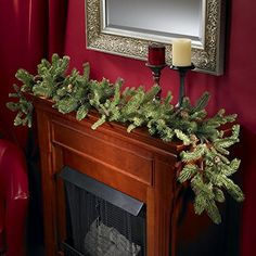 Nearly Natural 4918 Pine and Pinecone Garland, 60-Inch, Green * Review more details @