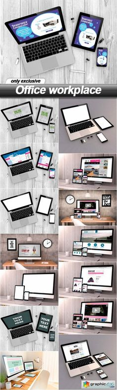 Office workplace  15 UHQ JPEG  stock images
