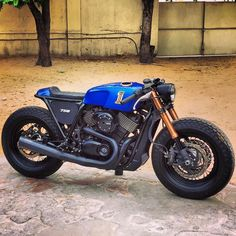 Harley Davidson 750 Street by Rajputana Custom, India