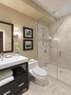 Modern bathroom decor ideas best small bathroom designs ideas only on small elegant trendy bathroom design . Contemporary Bathroom Designs, Modern Bathroom Design, Bath Design, Modern Bathrooms, Tile Design, Modern Contemporary, Design Color, Vanity Design, Kitchen Design